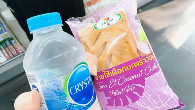 タイのセブンで買えるパン