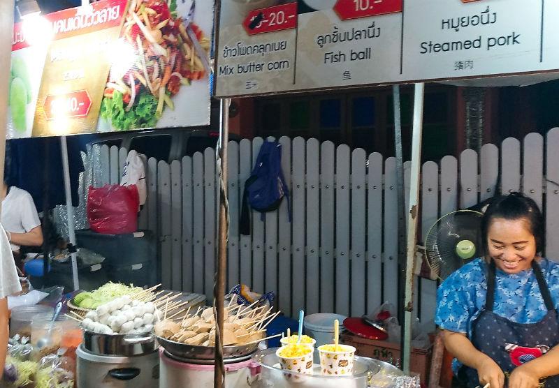 チェンマイのサタデーマーケット(土曜市)