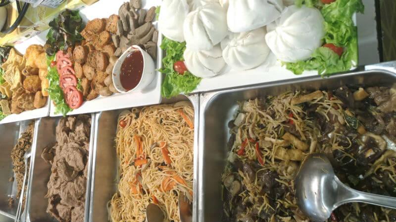 タイのおいしい菜食週間・ギンジェーกินเจ