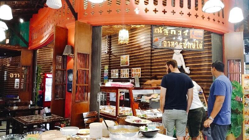 MAYA4階のタイ南部料理が楽しめるレストラン