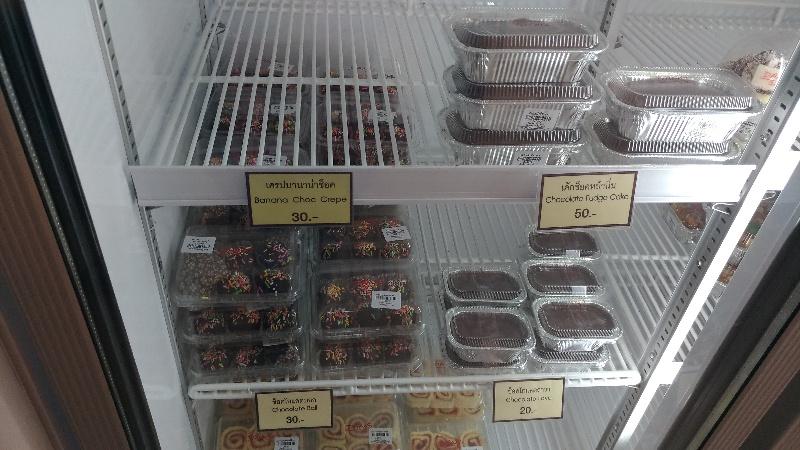 チェンマイのローカル洋菓子店、デーンベーカリー