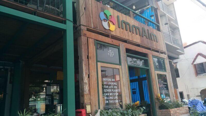 Imm Aim Vegetarian And Bike Café