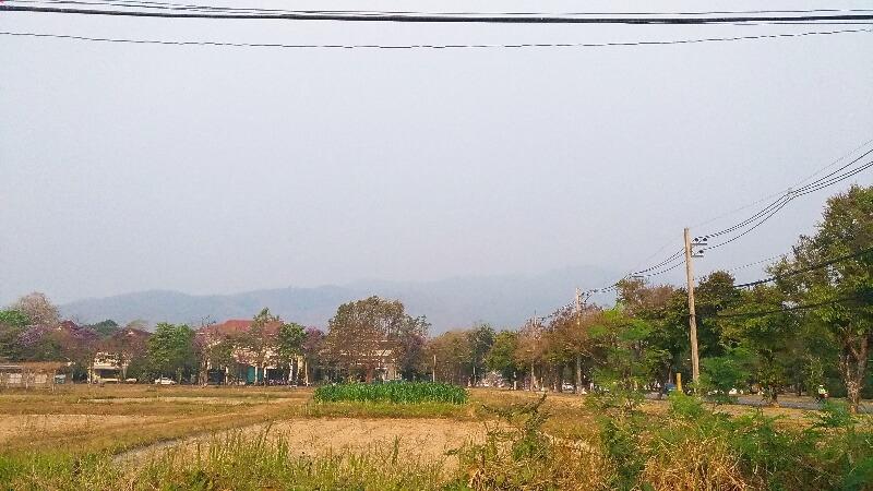 3月のチェンマイも煙害続き